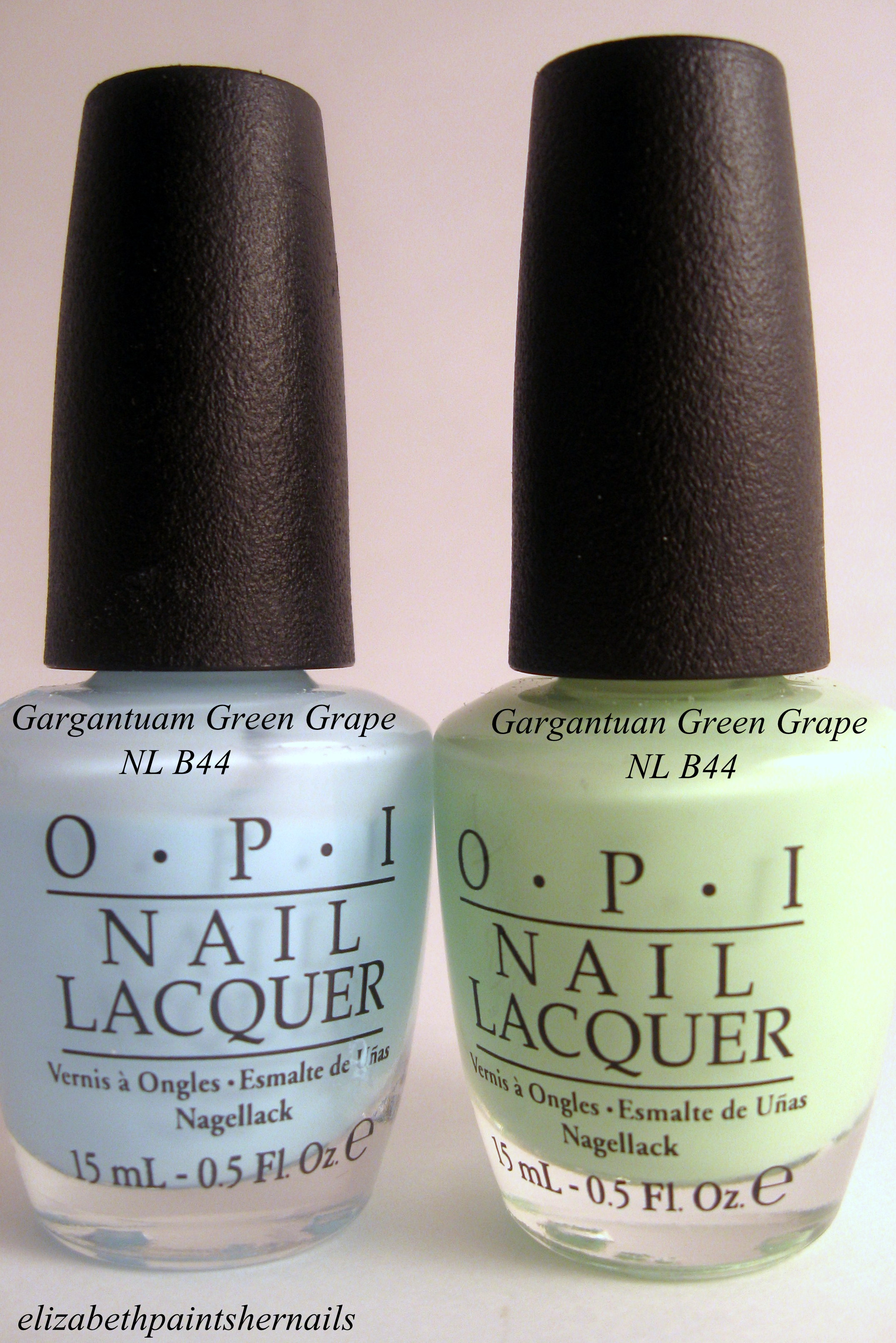 Opi Gargantuan Green Grape Blue Gargantuan Green Grape – Take